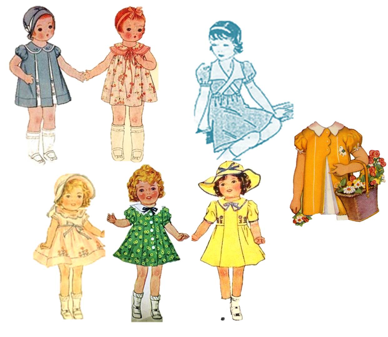 free doll sewing pattern | Wren*Feathers | Page 3