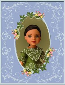 shola green ffd dress